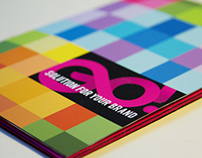 Gobranding flyer and folder
