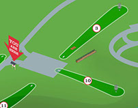 Findley State park Disc Golf Signage