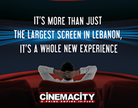 CinemaCity VIP theater
