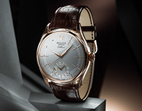 Rolex Cellini Dual Time / Animation