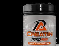 ProAim Nutrition Label