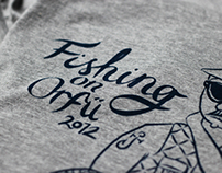 Fishing on Orfű | T-Shirts