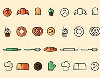 Free Bakery Icons