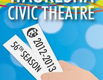 Waukesha Civic Theatre 2012-2013 Season