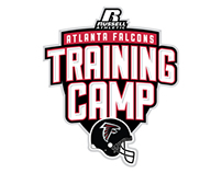 Atlanta Falcons Training Camp Logo