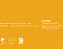 KÉK//B-Terv//Studio Week 2017//Garden