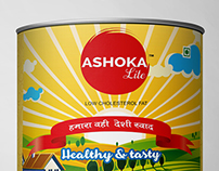 Ashoka Lite Desi Ghee Packaging