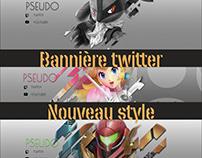 Bannière twitter : Nouveau Style