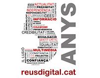 Design work for the online newspaper reusdigital.cat