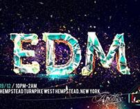House Star EDM Flyer