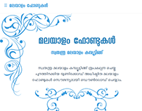 Malayalam Font download and preview page for SMC