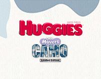 Huggies Camo - Web and Mobile