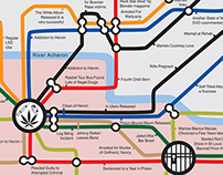 Heaven/Hell Subway Map for Musicians