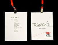 TEDxUMN REAWAKEN 2016 Branding and Stage Design