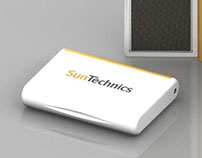 Portable Solar Chargers - Solidworks Rendering