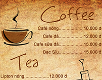 Menu Coffee