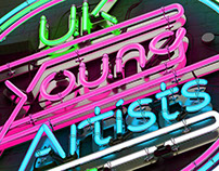 UK Young Artists 2014 Festival Campaign Design