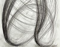 Black+White+Gray Drawings