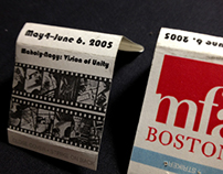 MFA Collateral: Matchbooks, Poster