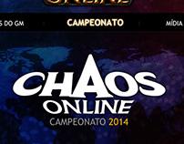 Hotsite Chaos Online.