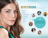 Burcu Kara official web page www.burcukara.com.tr