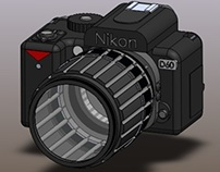 Nikon D60 on SolidWorks