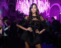Cindy Bruna/VS After show styled by Mickael Carpin