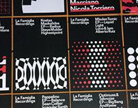 La Famiglia Recordings - Visual Identity