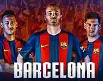 FC Barcelona (2016/17 Kit)