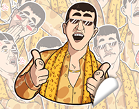 PPAP Telegram Stickers