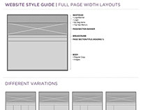 Urban Decay // Web Style Guide