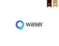 wasel - brand identity and UI/UX design