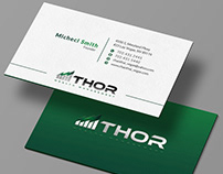 Professional business card Free Mockup