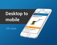 ArtFactor: Mobile version of IBG Corporate Website