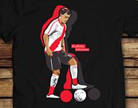 Abrazo De gol - River Plate illustrations