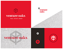 Venture Oaks Real Estate Group Identity