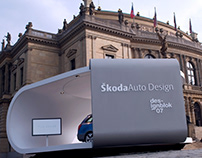 Škoda Auto exhibition stand