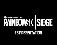 RainbowSix | Siege - E3 Presentation