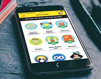 gnçtrkcll - mobile app badge design