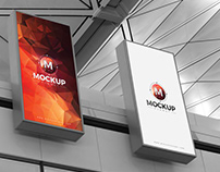 Free Expo Billboards Mockup PSD