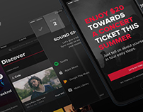 LiveNation App Redesign