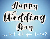 Fun Fact for Your Wedding Day eCard-August 4th