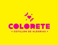 Colorete - Cotillón
