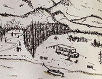 INTO THE WILD sketch