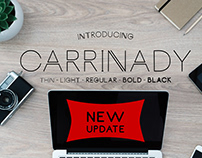 Free Font: Carrinady