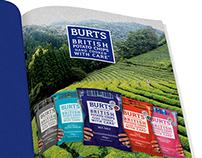 Magazine ad | BURTS Britsh potato chips