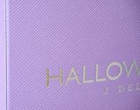 "Cofre plegable de perfume ""Halloween"""