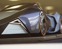 NR4 - Back to Basics, 4 Rotor Powered Supercar