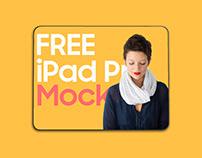 Floating iPad Pro Mockup