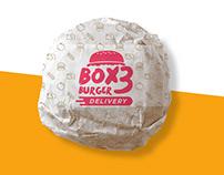 BOX3 Burger | Branding